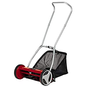 Einhell 3414129 Tosaerba Manuale a Spinta, Black/Red 41mQI4 LLAL. SS300