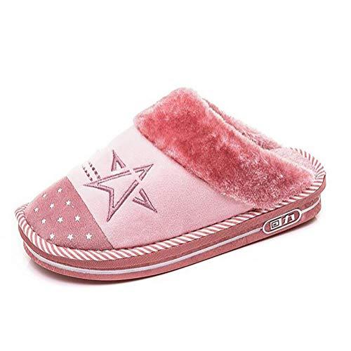 37 Sandales Harmonieuse Unisexe Chaudes 35 Chaussures Rose Famille En Taille Yingsssq Mignons coloré 34 Chaussons Pantoufles Violet Plancher 36 Coton qwU66FI8