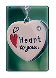 Special Duvoody Skin Case Cover For Ipad Mini/mini 2, Popular My Heart Belongs To You Pendent Phone Case