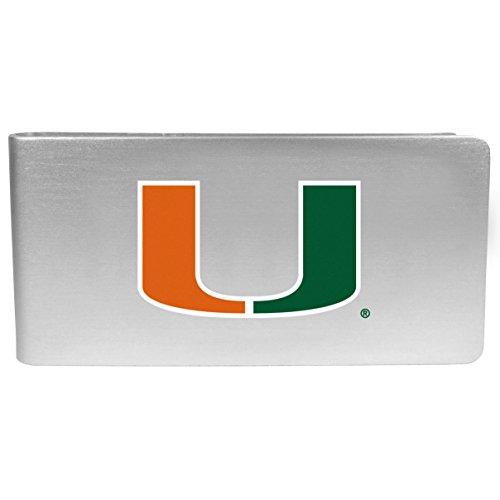 - NCAA Miami Hurricanes Logo Money Clip