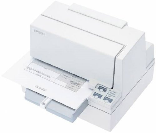 Epson C31C196A8981 TM-U590 Dot Matrix Slip Printer, 9 Pin, 88 Column, USB Interface, Without Display Module/HUB/MICR, Cool White