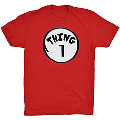 Thing 1 2 MOM DAD in All Style T-shirt Tank Top Hoodie Crewneck Youth Halloween