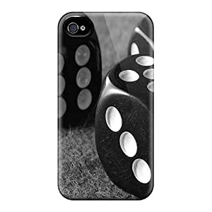 New Dice Tpu Skin Case Compatible With Iphone 4/4s