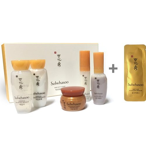 Sulwhasoo Basic Kit 5 (Trial Kit) + sulwhasoo sample