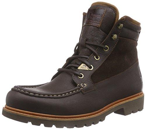 Jack Biker Aviator Brown amp; Stiefel Panama Warm Kurzschaft Herren Andrew Stiefeletten Boots gefüttert Braun FqBwdB