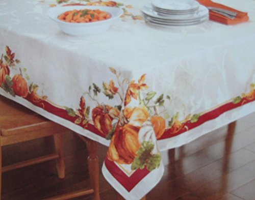 Harvest Pumpkin Tablecloth - 9