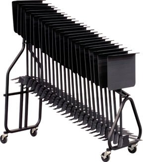 Hamilton KB100 Classic Music Stand Storage Cart by Hamilton