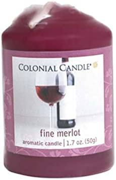 Colonial At Home Merlot Votive Candle Home Kitchen Amazon Com