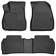 Husky Liners 99191 Black Weatherbeater Front & 2nd Seat Floor Liners Fits 2016-20 Chevrolet Malibu