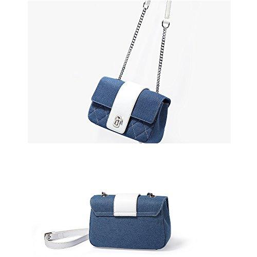 Chaîne GAOYANG Épaule Petite Messenger Carrée Bag Mini Sacs Girl Couleur Cow Hit fxw71rfq