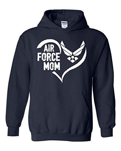 NIB Air Force Mom Aim High Gift For Mothers Day Christmas Homecoming Party Unisex Hoodies (Nib Gift)