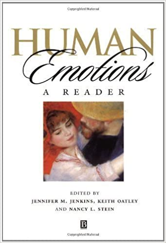 Human Emotions: A Reader by Jenkins, Jennifer M. Published by Wiley-Blackwell 1st (first) edition (1998)