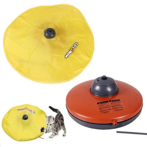 Undercover Mouse Cat's Meow Interactive Electronic Cat Toy.