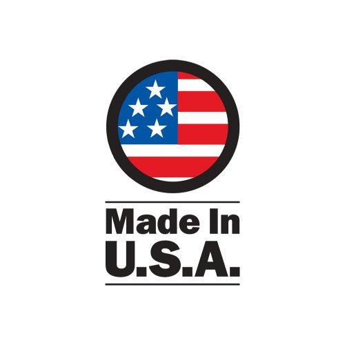 Mens Basic Padded Bike Short - Cycling Shorts Biking Pant - Made in USA