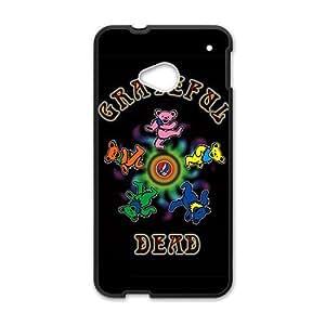 Grateful Dead Rock Band Black HTC M7 case