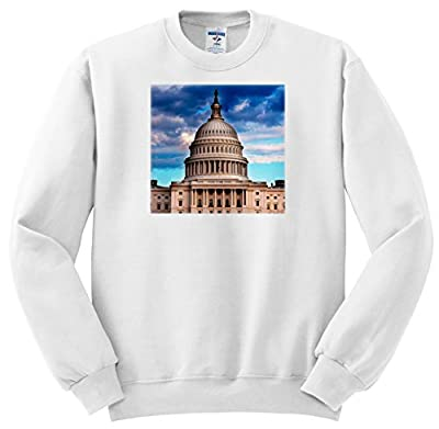 3dRose Danita Delimont - Washington DC - US Capitol Building, Washington DC - Sweatshirts