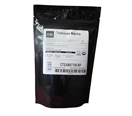 Rishi Tea Organic Matcha Green Tea Powder - 100 grams - 1st Flush