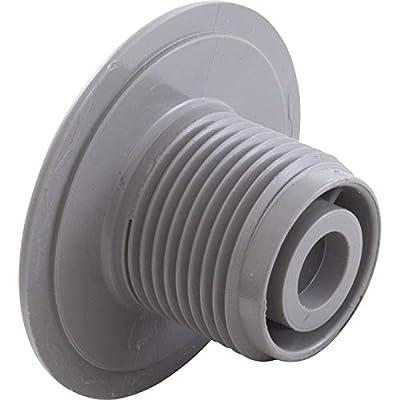 "Waterway Plastics 806105046413 Internal 2"" Ozone Cluster Smooth Fixed Gray Spa Jet"