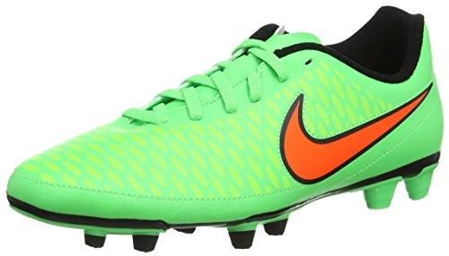 Nike Magista Ola Fg - Zapatillas de fútbol para hombre verde - Green (Psn Green/Ttl Orng/Flsh Lm/Blk 380)
