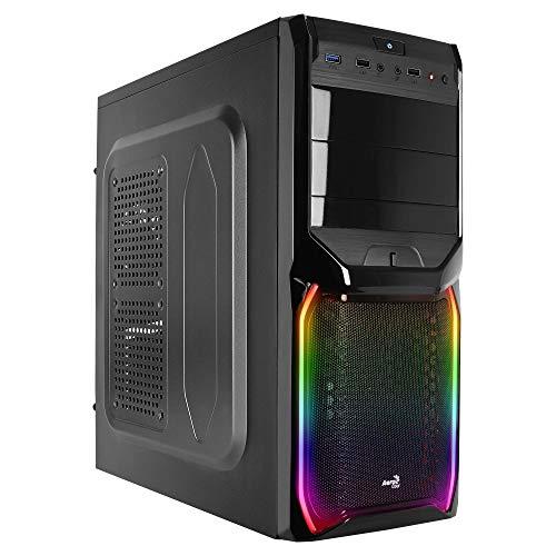 Aerocool ACCM-PV11014.11 USB 3.0 V3X RGB Midi Tower PC Gaming Case - Black