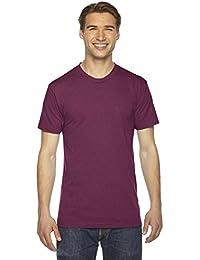 American Apparel Men's Tri-Blend Short Sleeve Track Shirt