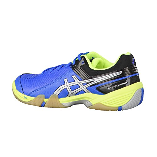 Asics Gel-domain 3 - Zapatillas de balonmano Hombre Electric Blue/Silver/Neon Yellow