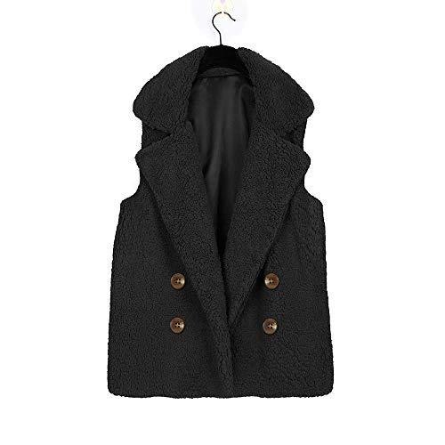 Tasche Klassischer Weste L Damenjacke ssige Mantel R Bluse Tops Mit Kragen ssig L Wollsleeve 8PkXnw0O