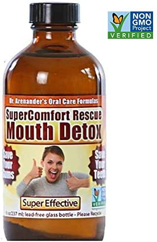 Gum Recession Help, Gums, Teeth Help - Organic Detox Dental & Oil Pulling - SuperComfort - Prevent Gum Recession, Plaque, Toothache, Gingivitis, Pain, Root Canal, Bleeding, Sensitivity, Inflammation