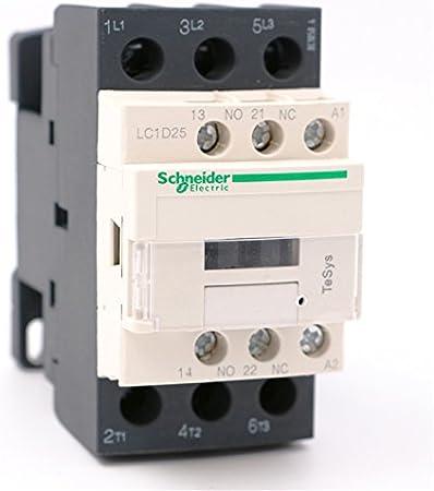 CONTACTOR LC1D25 F7 COIL 110V 25 AMP