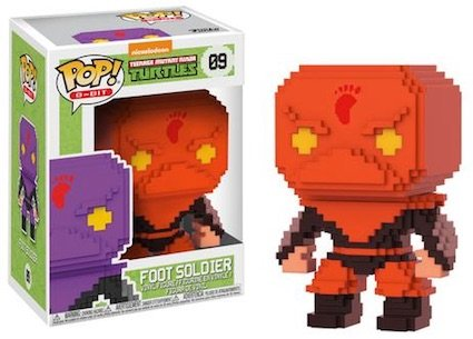 2017 NYCC Exclusive Pop! - 8-Bit: TMNT Foot Soldier (Red) with NYCC Sticker ()