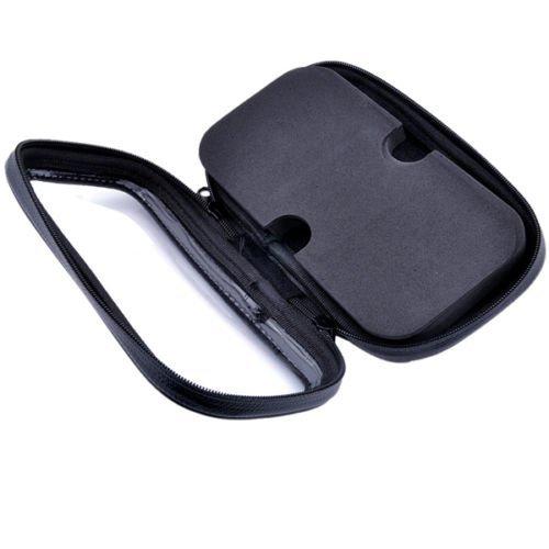 Caso Bolsa de tubo de bicicleta de carretera soporte de bicicleta gps mapa de tel/éfono inteligente m/úsica impermeable soporte,