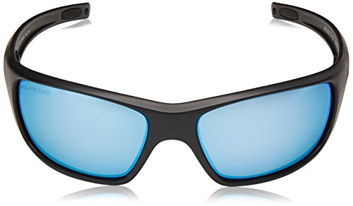 c68e1ed12aed4 Revo Unisex RE 4073 Guide II Rectangular Polarized UV Protection  Sunglasses