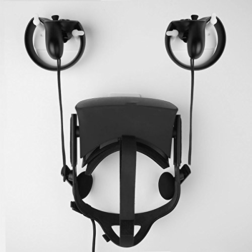 MIDWEC-Mount-and-Organizer-for-Oculus-Touch-and-Oculus-Rift-Helmet-Black