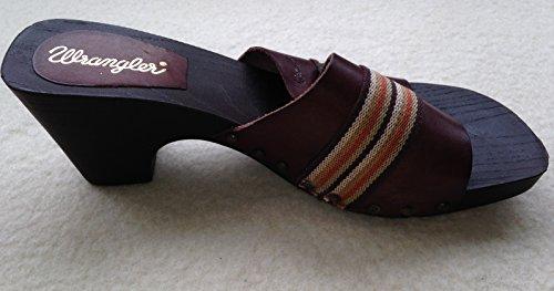 Wrangler, Pantofole donna Marrone Marrone scuro 41 EU