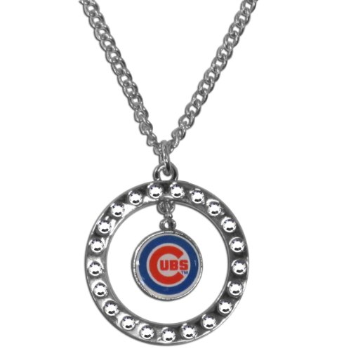 MLB Chicago Cubs Rhinestone Necklace
