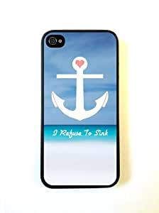Refuse To Sink Beach iphone 5c Case - For iphone 5c- Designer TPU Case Verizo...