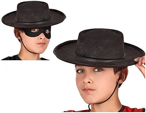Atosa-48906 Sombrero Cordobés, Color Negro (48906: Amazon.es ...