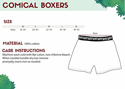 6ae4316b74c7 Crabby in The Morning Soft Comical Boxers for Men by LazyOne | Animal Pun  Joke Underwear
