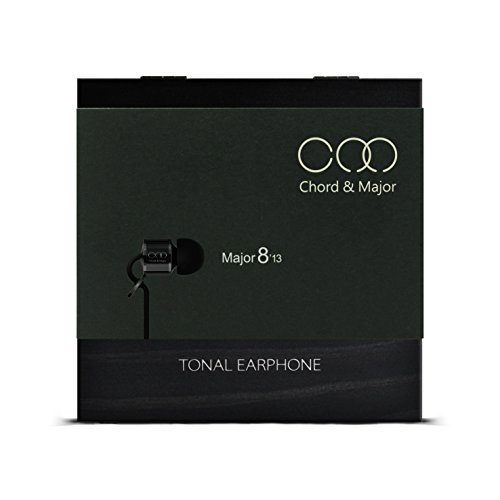 Chord Major 8 13 Rock Tonal Earphone – Specially Tuned Rock Music IEM with Sandalwood Body and Pinewood Presentation Box