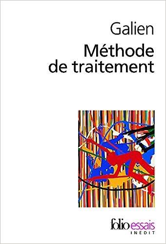 Livres Méthode de traitement epub, pdf