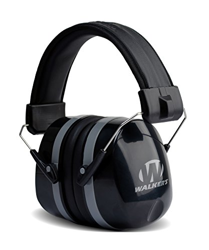 Walker's Game Ear GWP-EXFM5 Gear Hearing Protection Muffs (Best Shooting Hearing Protection 2019)