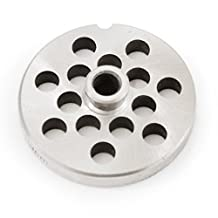 """TSM #10/12 Stainless Steel 3/8"""" Grinder Plate with Hub"""