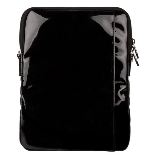 7 Galaxy VanGoddy Leather Crossbody Samsung inch Hydei Black A for Handbag 9 Tablet Patent Tab XzXrq