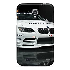 Defender Cases For Galaxy S4, White Bmw M3 Pattern