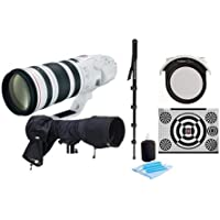 Canon EF 200-400mm f/4L IS USM w/Extender 1.4x Lens Bundle. USA. Value Kit w/Acc