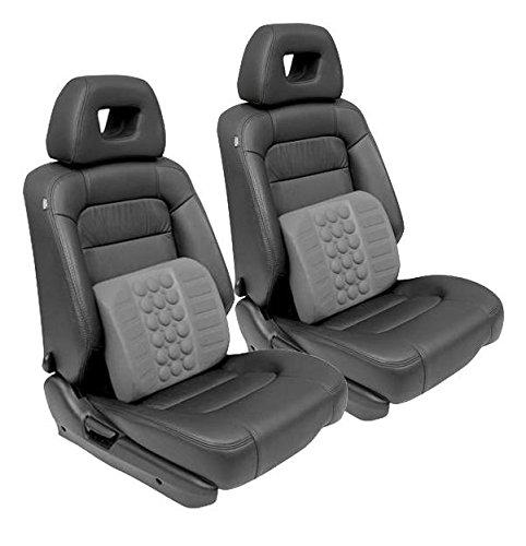 2x Car Van Mpv Seat Lumber Back Support Cushion Ergonomic Office Chair Seat