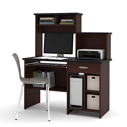 Bestar Active Computer Workstation in Black