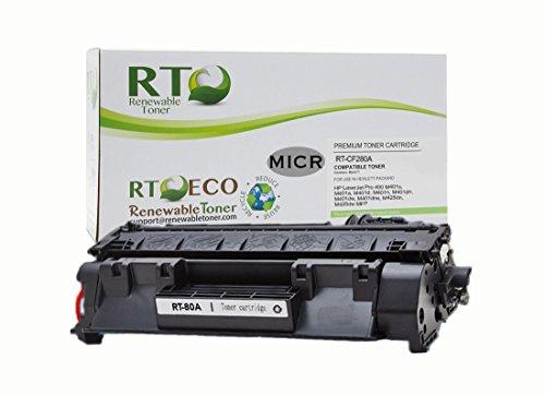 Renewable Toner 80A Compatible MICR Toner Cartridge Repla...
