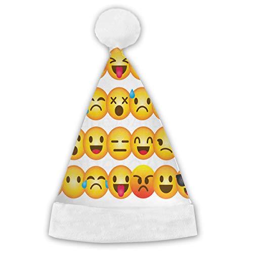 Christmas Hat Smiley Emoji Unique Santa Hat Christmas