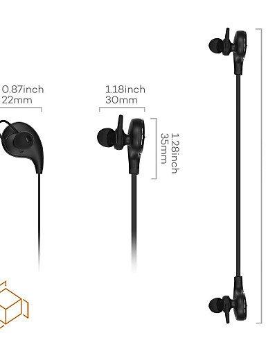 WDCzi ZCYAn ZCYAn qy8 qcy los mini deportes estéreo inalámbricos que ejecutan earbuds auriculares bluetooth auriculares (blanco& negro), black -.